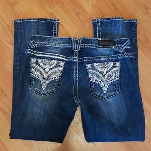 Vigoss The New York slim bootcut thick stitch jean
